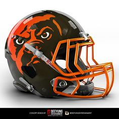 i see a bulldog ! Clevelands New Look? NFL Concept Helmets - Album on Imgur