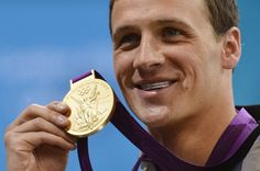 Ryan Lochte Wore a Diamond Grill to the Olympics, Almost Didn't Get his Gold Medal Because of It