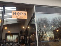 Hops Food & Brews Hops bar. Gothenburg Sweden Interior Designer: Benedicte Boutou