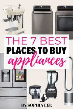 I am literally getting a Costco membership just for the prices on some of their high end appliances. Thank you Sophia for sharing all of these amazing places to buy appliances, I never had really thought about it before!! First Apartment Checklist, First Apartment Essentials, Apartment Hacks, Apartment Kitchen, Apartment Living, Buy Appliances, Moving House Tips, Costco Membership, Ikea