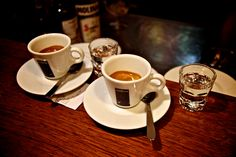 This drink is prefect for the classy pregame. The corretto is an Italian cocktail of espresso, grappa, and sambuca or brandy. Now thats what I call a coffee buzz AYOOO! Frappuccino, Gelato, Café Cubano, Ethiopian Coffee Ceremony, Italy Coffee, Italian Cocktails, Cocoa Tea, Cappuccino Machine, T Bone Steak