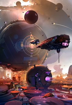 "Concept Art by Nicolas Bouvier ""Sparth"" 