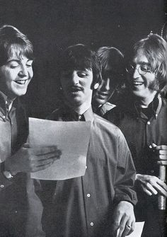 The Beatles, all together now (i think)