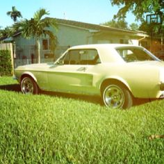1967 Mustang coupe.
