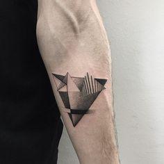 """ for @slavagee  #sashatattooing #linework #dotwork #tattoo #love #fauxpastattoo"""