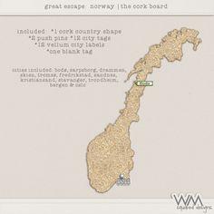 Great Escape: Norway – The Corkboard