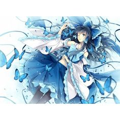 Pretty anime style pics ❤ liked on Polyvore featuring anime