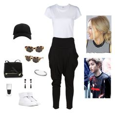 """""""marke ☆"""" by blackcatmeow ❤ liked on Polyvore featuring RE/DONE, Givenchy, Y-3, American Apparel and Maison Margiela"""