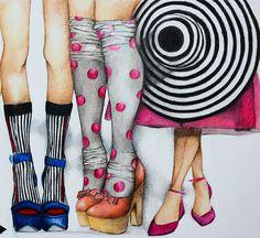 Ejemplo de la moda por Yanina Enlace