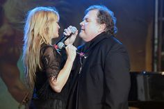 Meat Loaf at Newbury Racecourse