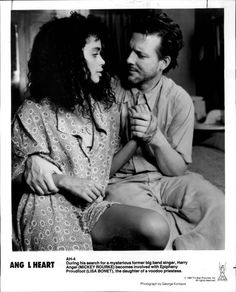 Lisa Bonet and Mickey Rourke  (Angel Heart)