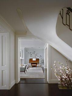 A Park Ave. apartment in New York City. Interior design by Eve Robinson Associates Inc.