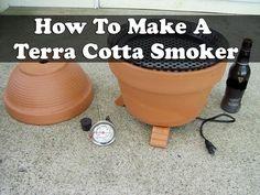 How To Make A Terra Cotta Smoker