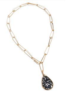 Pomellato 18k Rose Gold Victoria Pendant Necklace. Now available at Diamond Dream Fine Jewelers https://www.facebook.com/pages/Diamond-Dream-Fine-Jewelers/170823023636 https://www.diamonddreamjewelers.com info@diamonddreamjewelers.com 908.766.4700