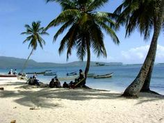 Las Galeras, Dominican Republic.  I need to be here with some pan de coco and a medio litre.
