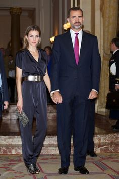 Queen Letizia of Spain Cocktail Dress - Queen Letizia of Spain Clothes Looks - StyleBistro
