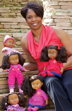 Dr. Lisa Williams has been recognized as an international trailblazer when it comes to Black dolls.