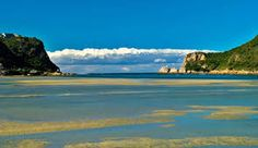 The Knysna Heads viewed from the lagoon at low tide Travel Collage, Knysna, Small World, Places Ive Been, South Africa, Free Images, Coastal, Wallpaper Ideas, Explore
