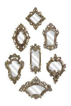 Loletta Victorian Mirrors - Set of 7 on HauteLook