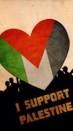 I support Palestine.......free palestine