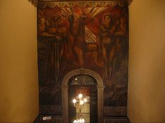 José Clemente Orozco at Sanborns, Casa de los Azulejos, Mexico City by hanneorla, via Flickr