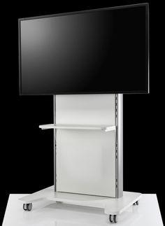 Tv Cart, Tv Panel, Data Entry, Large Format, Easy Access, Office Furniture, Flooring, Elegant, Simple