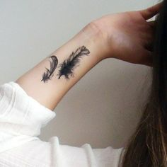 2 feathers | inner arm