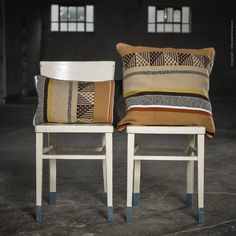 Sol crepuscular cushion Hand Spinning, Loom, Hand Weaving, Dining Chairs, Cushions, Traditional, Interior, Fabric, Handmade