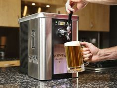 New home brew system is the Keurig for craft beer lovers.
