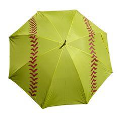 "Softball Girls Sports Golf Umbrella 60"""
