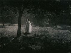 Constant Puyo White Silhouette, circa 1903 Gum bichromate print From Impressionist Camera: Pictorial Photography in Europe, 1888-1918