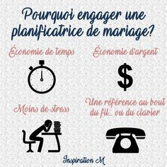 Pourquoi engager une planificatrice de mariage Stress, Inspiration, Math, Wedding Planner, Biblical Inspiration, Math Resources, Anxiety, Early Math
