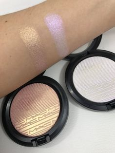 MAC Extra Dimension Skinfinish In Beaming Blush & Soft Frost. Want this in Beaming Blush!!!