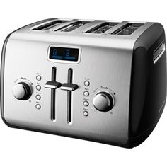 Kitchenaid 4-Slice Toaster - Onyx Black