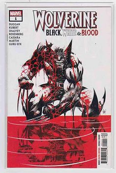 Amazon.com: Wolverine Black, White & Blood #1 (2021) Adam Kubert Cover: Everything Else Rare Comic Books, Comic Books For Sale, Online Comic Books, Marvel Entertainment, American Comics, Marvel Dc Comics, Dark Horse, Wolverine, Book Publishing