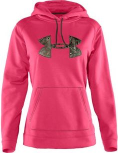 Under Armour® Women's Tackle Twill Hoodie from Cabela's. Would so wear this!