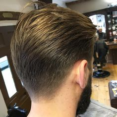 nice 100 Trendy Fade Haircut For Men - Nice 2017 Looks Best Fade Haircuts, Low Fade Haircut, Cool Hairstyles For Men, Mens Hairstyles With Beard, Cool Haircuts, Hair And Beard Styles, Haircuts For Men, Medium Hair Cuts, Medium Hair Styles