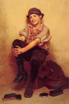 Taking It Easy ~ John George Brown