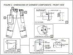 ECU Trouser features