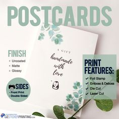 Unlike any other advertising mediums, postcards are highly targeted because they always reach your business' intended audience and people are drawn to its beautiful features that more than meets the eye.