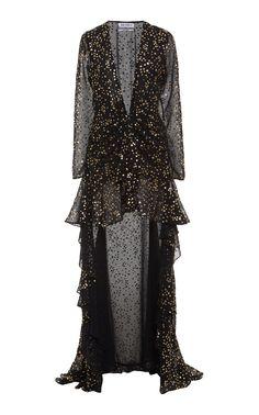 Midi Shirt Dress, Chiffon Maxi Dress, High Low Skirt, Print Chiffon, A Line Skirts, Gowns, Elegant, Fashion Design, Fashion Details