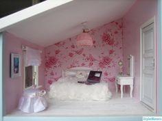 sovrum,dollhouse bedroom