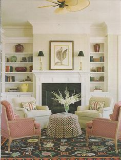 moulding on the top to tie into fireplace. follow the link for more ideas