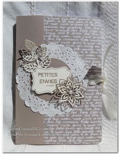 Sandrine with Stampin Up PapierCiseauxEtCie book ads cravings