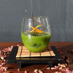 "Cocktail Green Apple - get recipe in FB profile - Trust me I'm ""Bartender"""