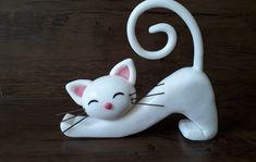 kitten-in-biscuit-cat-of-biscuit - kitten-in-biscuit-cat-of-biscuit - Polymer Clay Cat, Polymer Clay Animals, Polymer Clay Projects, Fondant Cat, Clay Cats, Kids Clay, Christmas Clay, Clay Figures, Paperclay