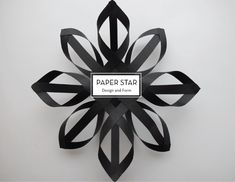 25 DIY HOLIDAY DECOR PROJECTS – Paper Star