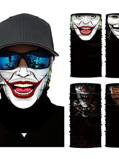 Bandana Colors, Joker Face, Online Shopping, Promotion, Half Face Mask, Road Cycling, Neck Scarves, Winter Sports, Square Scarf