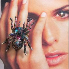 Shamus Sister Spider Ring by VickiDianeDesigns on Etsy, $24.00