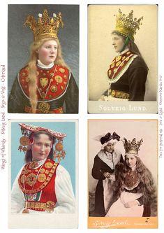 66 Ideas Norwegian Bridal Crown Folk Costume For 2019 Norwegian Clothing, European Clothing, Folk Costume, Costumes, Bridal Boutique Interior, Small Bridal Parties, Norwegian Vikings, Kate Spade Bridal, Bridal Photoshoot